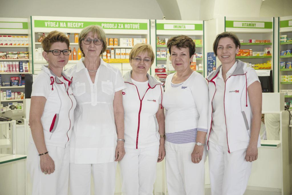 Tým - Lékárna u kašny - Uherský Brod